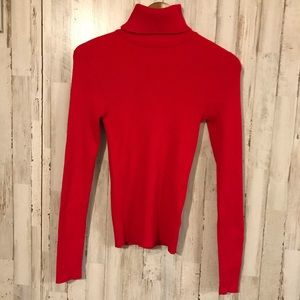 Forever 21 | Red Turtleneck Sweater